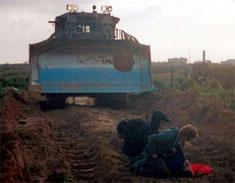 Rachel Corrie killed by Israeli bulldozer