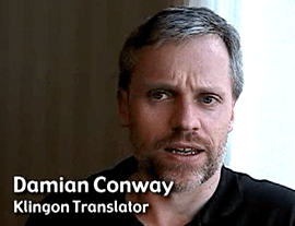 [Damian Conway - Klingon Translator]