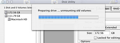 [disk utility partitioning]